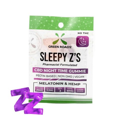 GREEN ROADS Green Roads Edibles Sleepy'z, 2ct