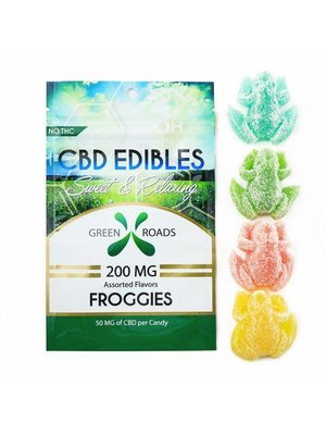 GREEN ROADS Green Roads Edibles Froggies, 4ct