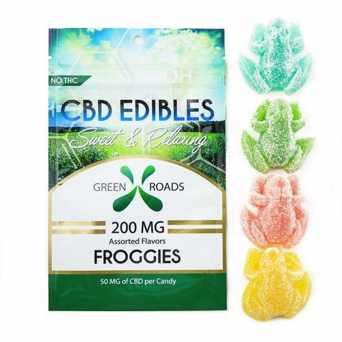 GREEN ROADS Green Roads Edibles Froggie, 4ct