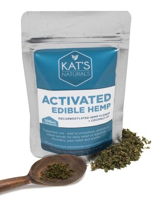 KAT'S NATURALS Kat's Naturals Edible Activated Hemp Flower 8oz