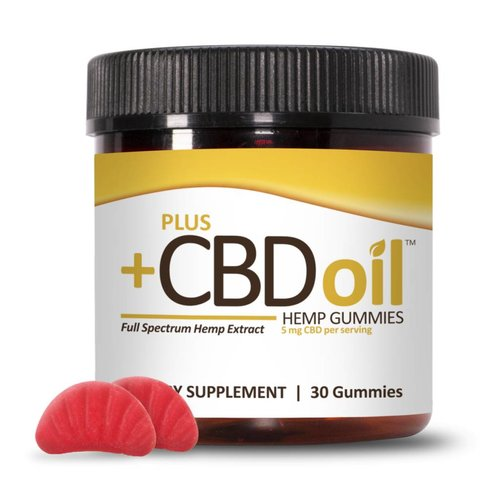 PLUS CBD PlusCBD Gummies, Cherry Mango, 30ct