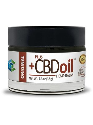 PLUS CBD PlusCBD Raw Formula Balm, 1.3oz, 50mg
