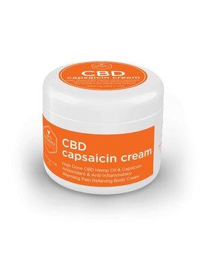 KAT'S NATURALS Kat's Naturals CBD Cream w/Capsaicin, 4oz.