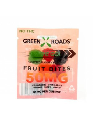 GREEN ROADS Green Roads Fruit Bite Gummies