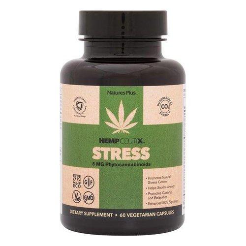 NATURE'S PLUS Nature's Plus Hempceutix Capsules, Stress, 60vc - disco