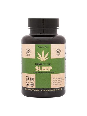 NATURE'S PLUS Nature's Plus Hempceutix Capsules, Sleep, 60vc - disco