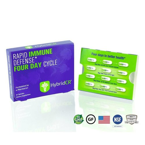 Hybrid Remedies Hybrid Defense HybridCR Rapid Immune Defense, 12cp