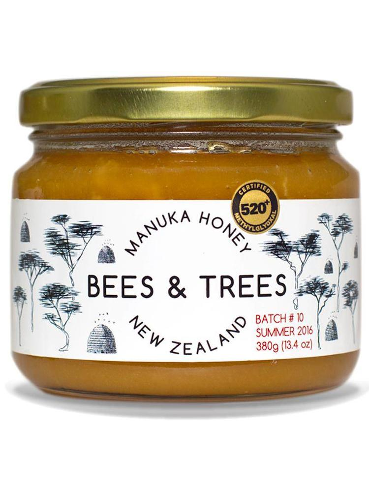 BEES AND TREES Bees & Trees Manuka Honey 500+ MGO, 13.4oz.