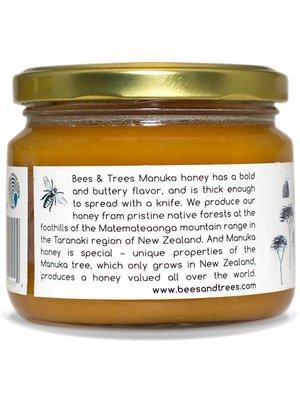 BEES AND TREES Bees & Trees Manuka Honey 500-550+ MGO, 13.4oz.