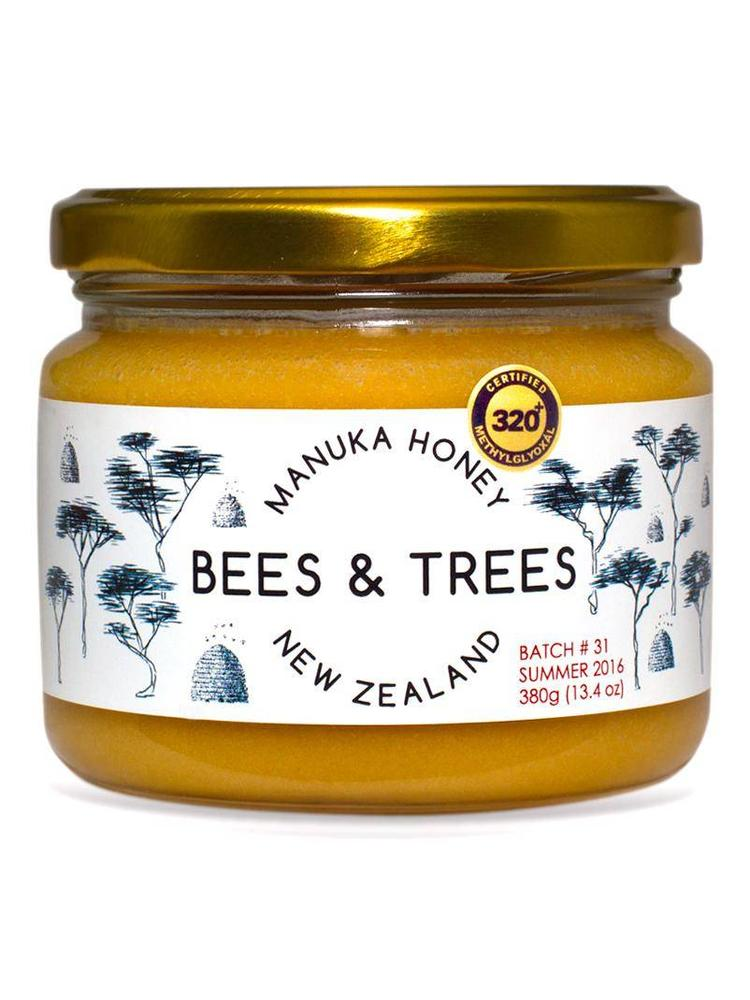 BEES AND TREES Bees & Trees Manuka Honey 275+ MGO, 13.4oz.