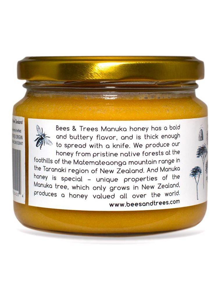 BEES AND TREES Bees & Trees Manuka Honey 275-350+ MGO, 13.4oz.