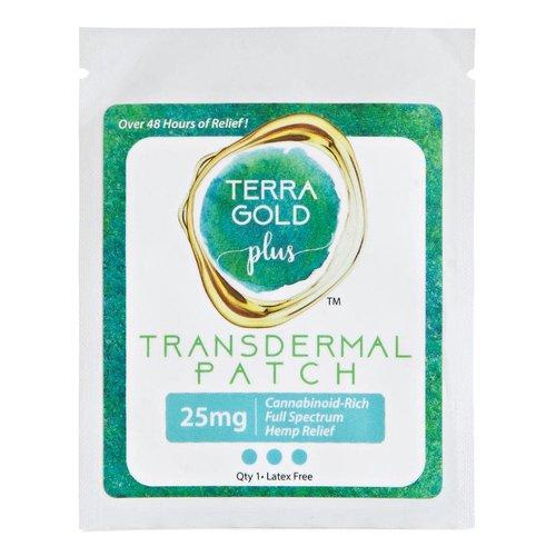 TERRA GOLD Terra Gold Transdermal Patch, 25mg