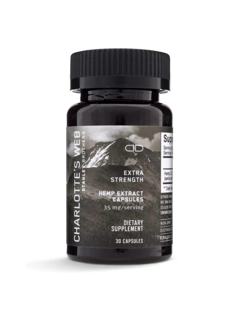 CHARLOTTE'S WEB Charlotte's Web Extra Strength Capsules, 30ct