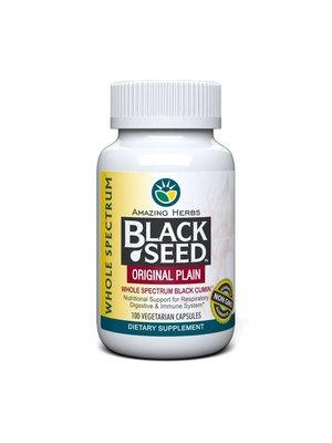 AMAZING HERBS Amazing Herbs Black Seed Original Plain, 100cp