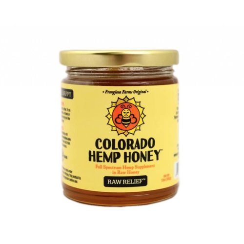 COLORADO HEMP HONEY Colorado Hemp Honey, Raw 6oz