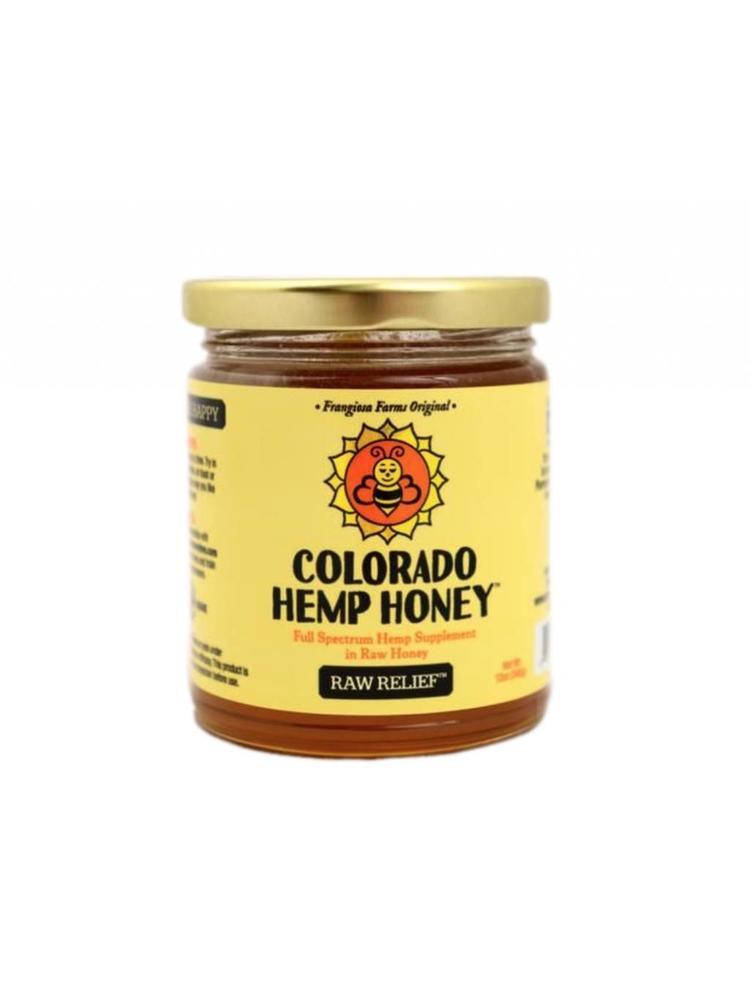 COLORADO HEMP HONEY Colorado Hemp Honey, Raw 6oz