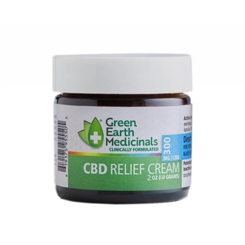 GREEN EARTH MEDICINALS Green Earth Medicinals Relief Cream, 2oz