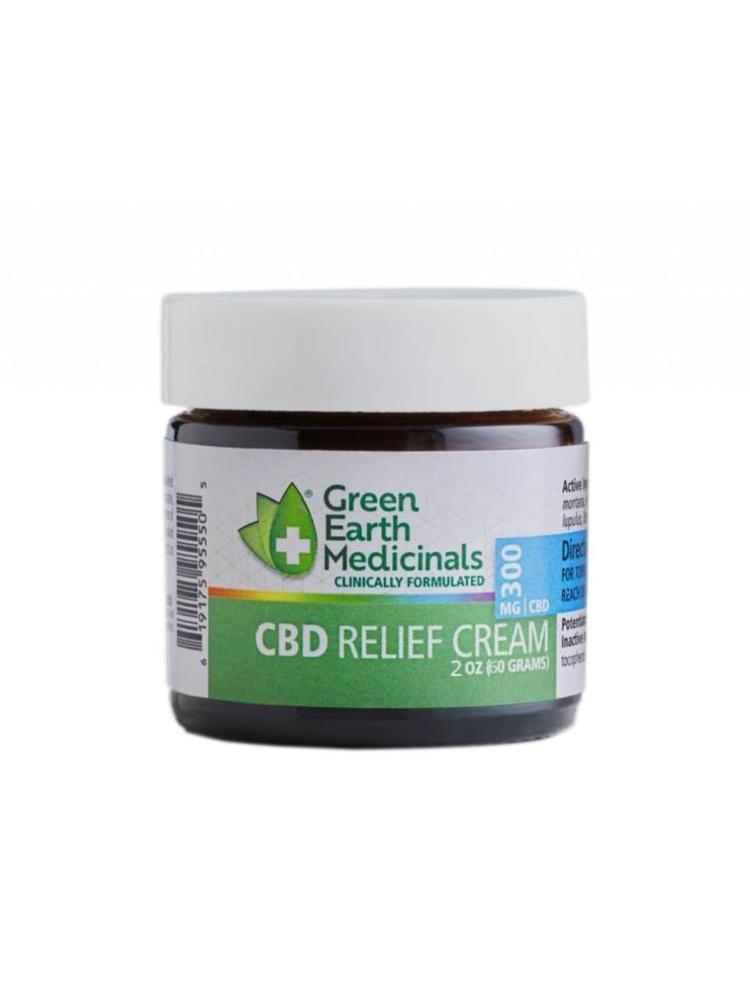 GREEN EARTH MEDICINALS Green Earth Medicinals Relief Cream, 2oz