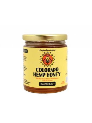 COLORADO HEMP HONEY Colorado Hemp Honey, Raw 12oz
