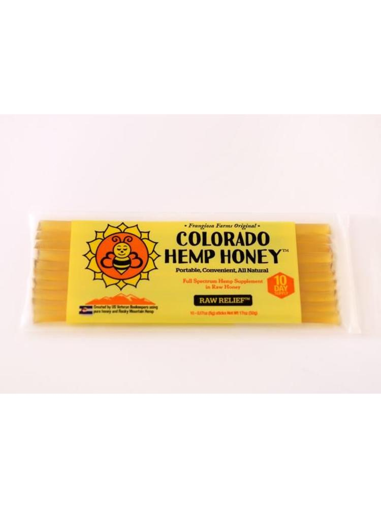 COLORADO HEMP HONEY Colorado Hemp Honey 10 Pack Chill Stick Raw Relief