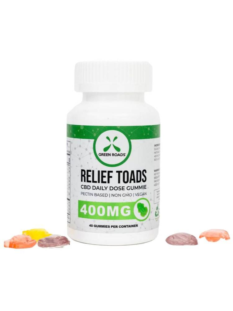 GREEN ROADS Green Roads Edibles Relief Gummies, 30ct
