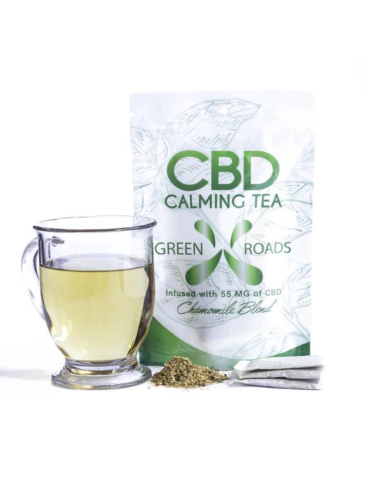 GREEN ROADS Green Roads CBD Tea, Chamomile Single