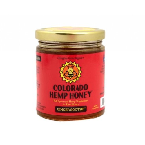 COLORADO HEMP HONEY Colorado Hemp Honey, Ginger 6oz