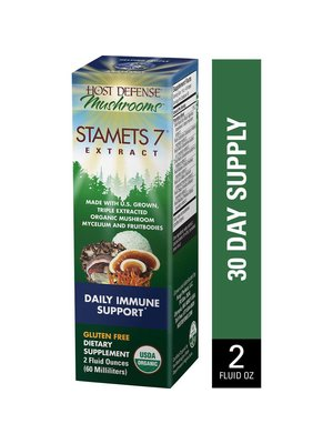 HOST DEFENSE Host Defense Stamets 7 Extract, 2oz.