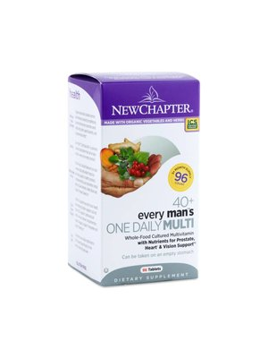 NEW CHAPTER New Chapter Every Man's One Daily 40+ 96t
