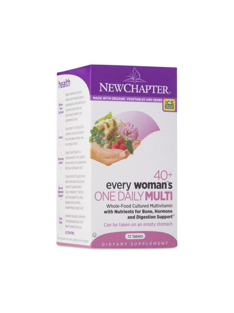 NEW CHAPTER New Chapter Every Woman's One Daily 40+, 72t