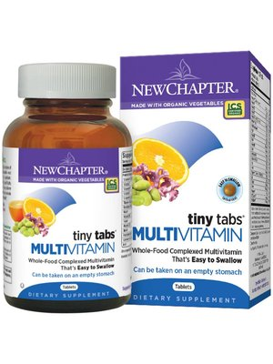 NEW CHAPTER New Chapter Tiny Tabs Multi, 192t