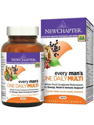 NEW CHAPTER New Chapter Every Man's One Daily, 72t