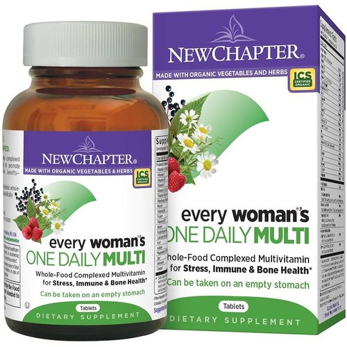 NEW CHAPTER New Chapter Every Woman's One Daily 72t