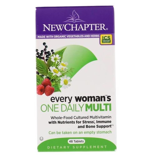 NEW CHAPTER New Chapter Every Woman's One Daily, 48t
