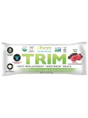 ebars TRIM Bar, Dk Cocoa Raspberry, Organic 1.8oz.