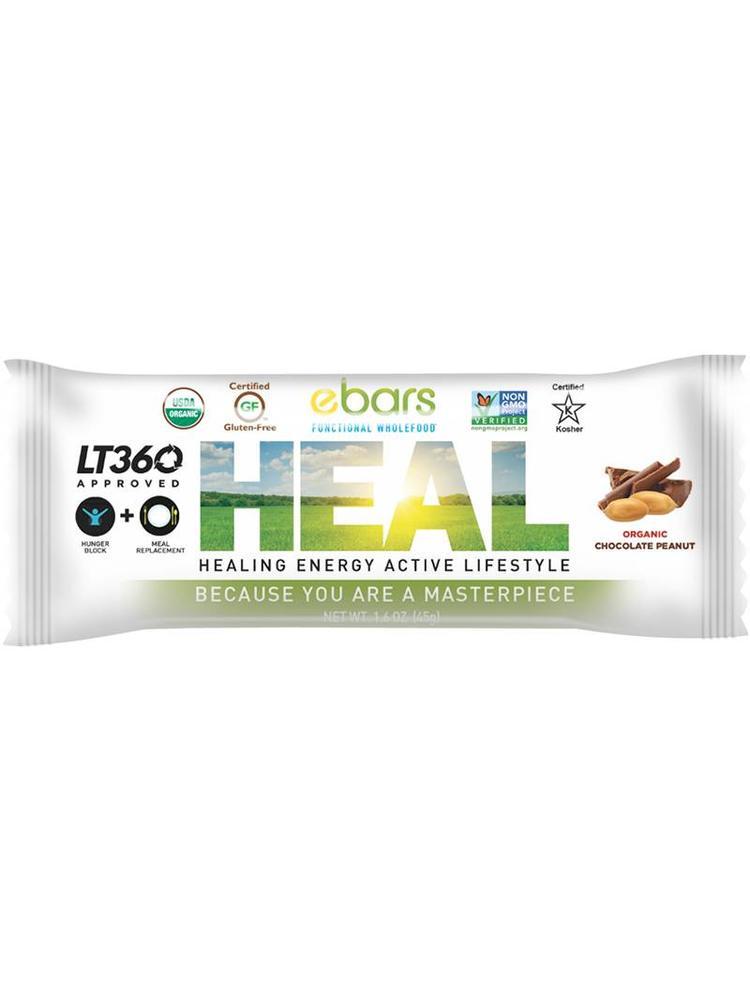 ebars HEAL Bar, Choc Peanut, Organic, 1.8oz.