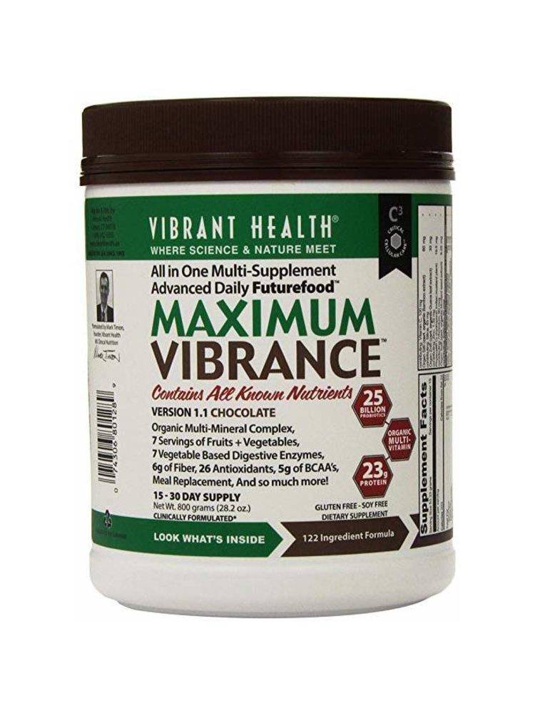 Vibrant Health Vibrant Health Maximum Vibrance Choc 25.56oz.