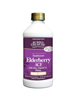 BURIED TREASURE Buried Treasure Elderberry ACF, 16oz.