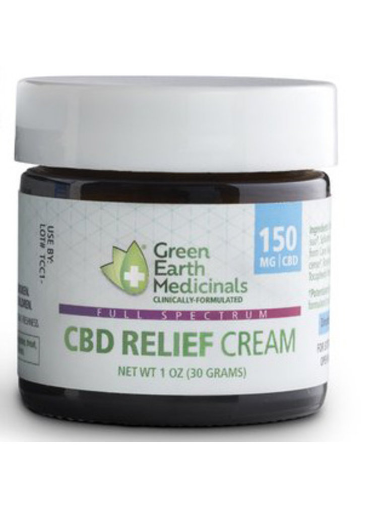 GREEN EARTH MEDICINALS Green Earth Medicinals Relief Cream, 1oz