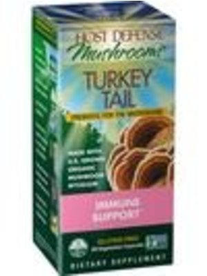 HOST DEFENSE Host Defense Turkey Tail, 60cp