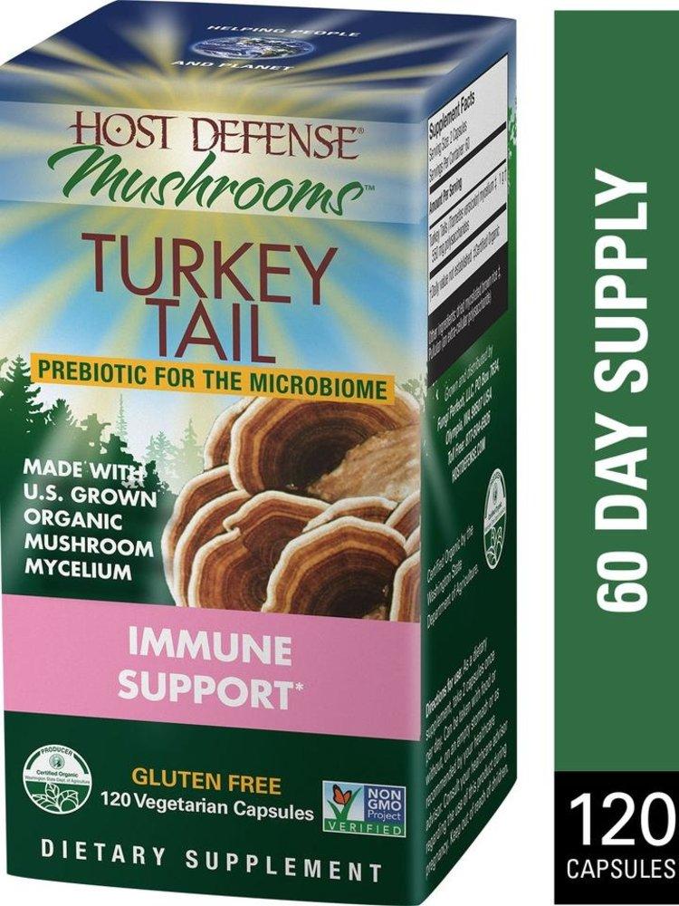 HOST DEFENSE Host Defense Turkey Tail, 120cp