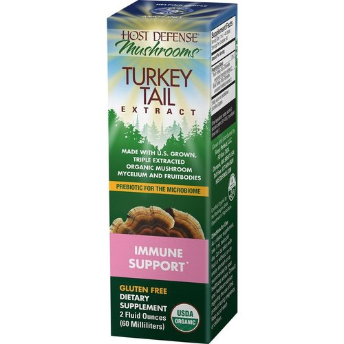 HOST DEFENSE Host Defense Turkey Tail Extract, 2oz.