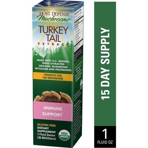HOST DEFENSE Host Defense Turkey Tail Extract, 1oz.