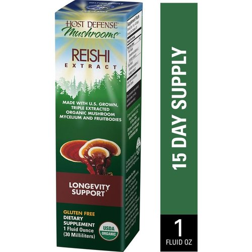 HOST DEFENSE Host Defense Reishi Extract, 1oz.