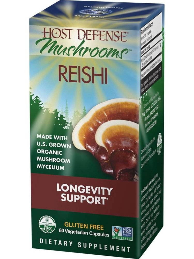 HOST DEFENSE Host Defense Reishi 60ct
