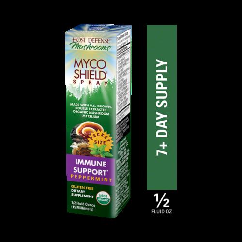 HOST DEFENSE Host Defense Mycoshield Spray, Peppermint, 0.5oz.
