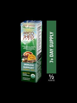 HOST DEFENSE Host Defense Mycoshield Spray, Licorice, 0.5oz.