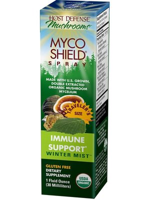 HOST DEFENSE Host Defense MycoShield Immune Support, Winter Mist, 1oz.