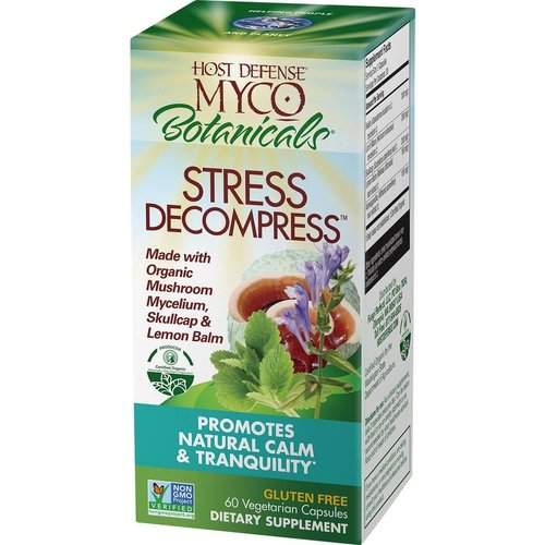 HOST DEFENSE Host Defense MycoBotanicals Stress Free, 60cp