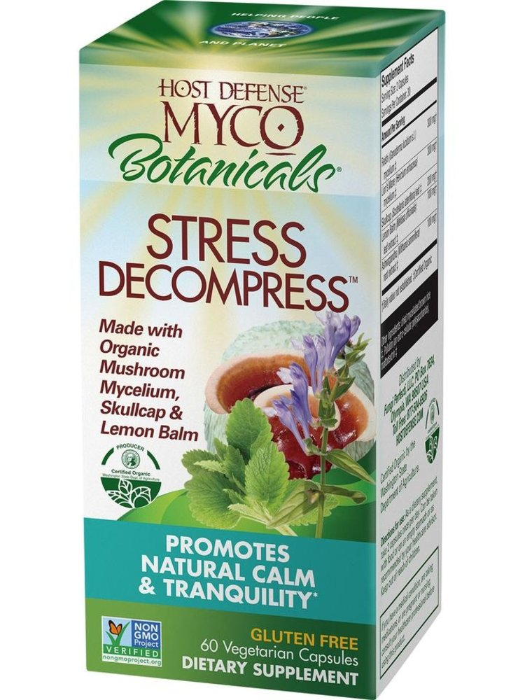 HOST DEFENSE Host Defense MycoBotanicals Stress Decompress, 60cp